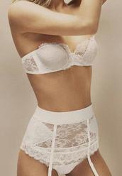 underwear,undies,lingerie,lingerie set,sexy lingerie,bridal lingerie,top,white lingerie