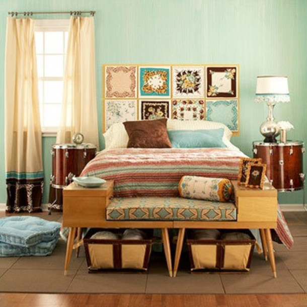 bag, bedding, stripes, bedding, duvet set, turquoise, brown ...