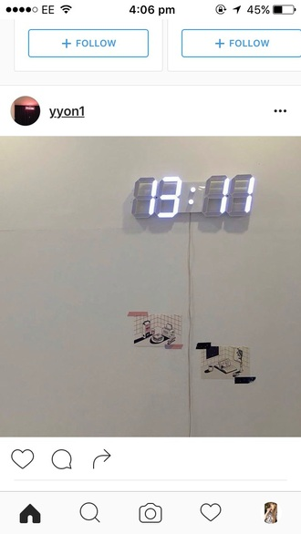 home accessory digital clock aesthetic tumblr aesthetic tumblr neon light light up instagram
