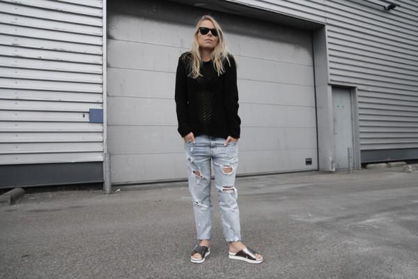 tao of sophia shoes jewels sweater pants