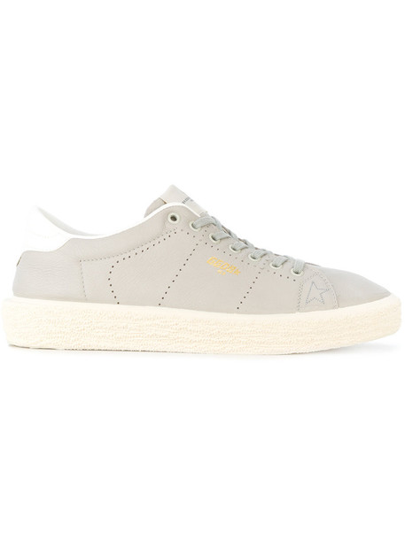 GOLDEN GOOSE DELUXE BRAND women sneakers leather grey shoes