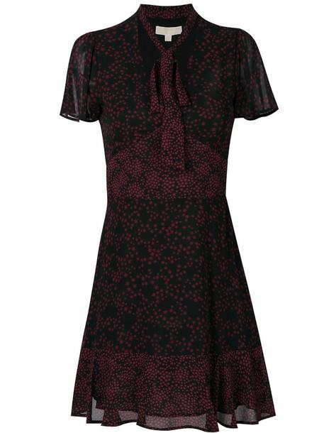 dress women print black