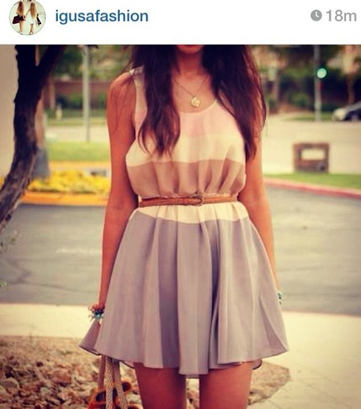 dress pastel girly