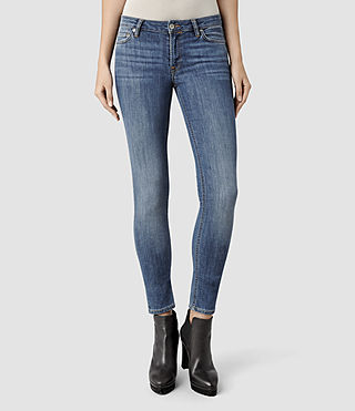 Womens Mast/Slashed Black (Black) | ALLSAINTS.com