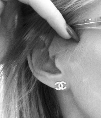 jewels chanel diamonds small earrings