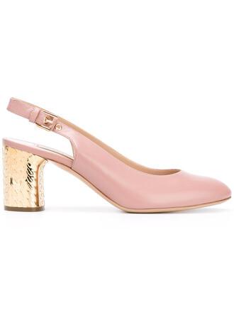 heel metallic women pumps leather nude shoes