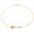 Arrow Bracelet - Yellow Gold