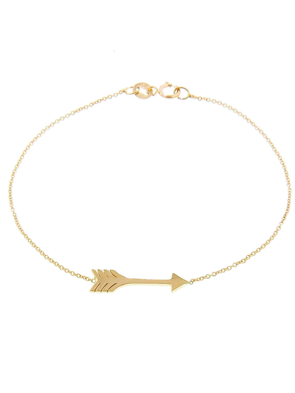 Arrow Bracelet - Yellow Gold