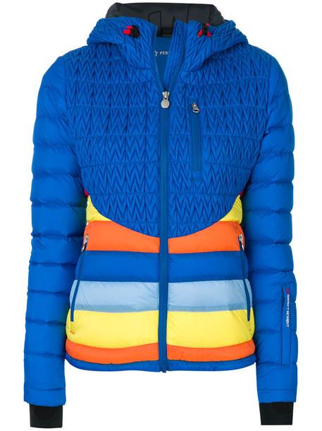 jacket rainbow women blue