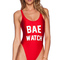 Private party bae watch swimsuit in red from revolveclothing.com