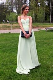 dress,elegant,classy prom dress,prom dress,prom gown,elegant dress,classy,classy dress,light green,junior prom,junior prom dress,elegant prom dress,elegant prom gown,green dress,green
