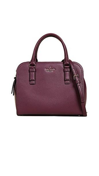 Kate Spade New York street plum bag