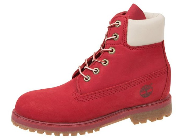 shoes timberlands red timberlands