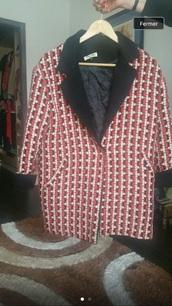 coat,red coat,made in italy,miu miu