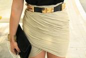 wrap skirt,draped,skirt