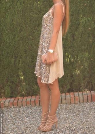 dress sequin dress shift dress party dress