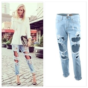 Boyfriend Jeans - Juicy Wardrobe