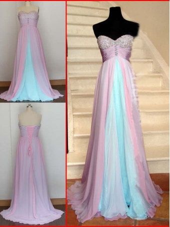 Formal Chiffon Long Prom Dresses/Graduation Dress [E007] - $186.99 : 24inshop