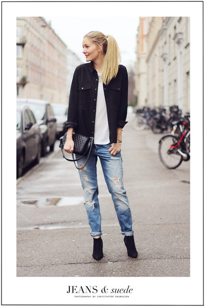 passions for fashion blogger shirt t-shirt jeans jacket shoes jewels bag