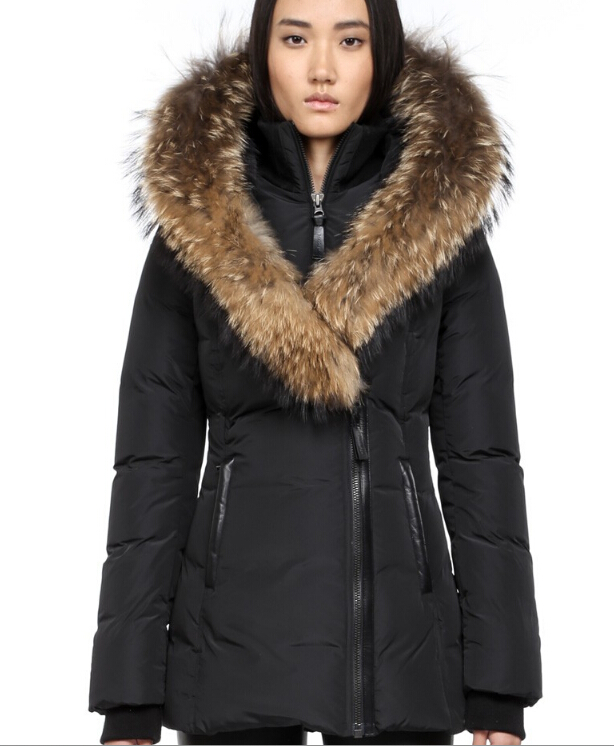 Winter Parka Down Jackets Regular long Down Apparel Down women ...