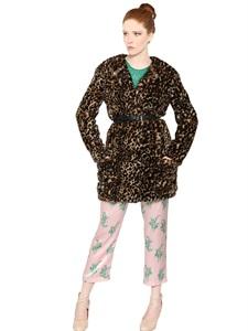 Eco pelliccia leopard