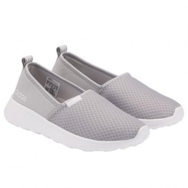 2e7e4e7fbe51 shoes adidas adidas shoes neo lite racer shoes casual shoes sneakers gray  shoes adidas gray adidas