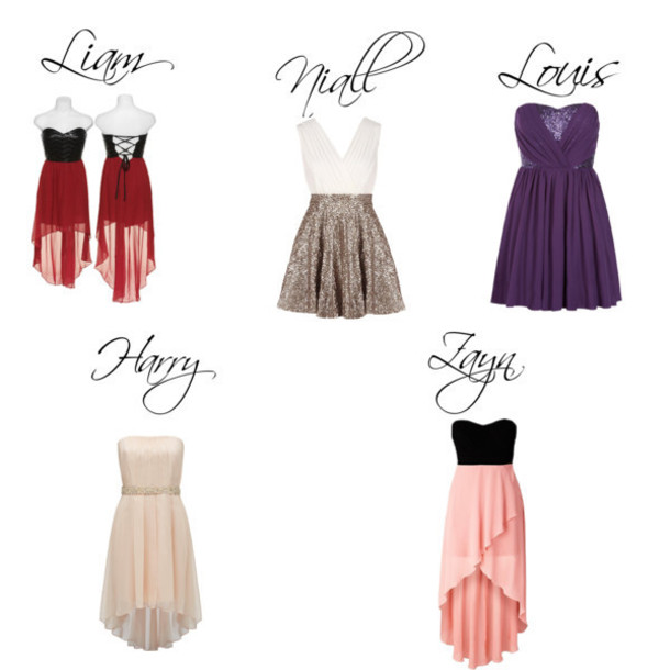 dress one direction purple dress plum