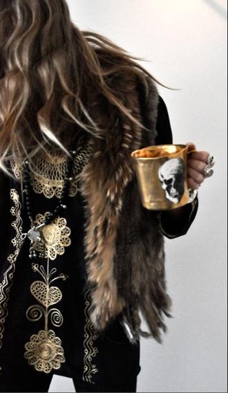 jewels copper home accessory mug