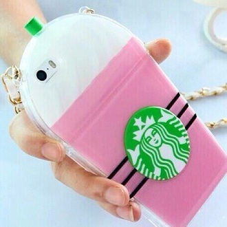 phone cover starbucks coffee phone pink rosa