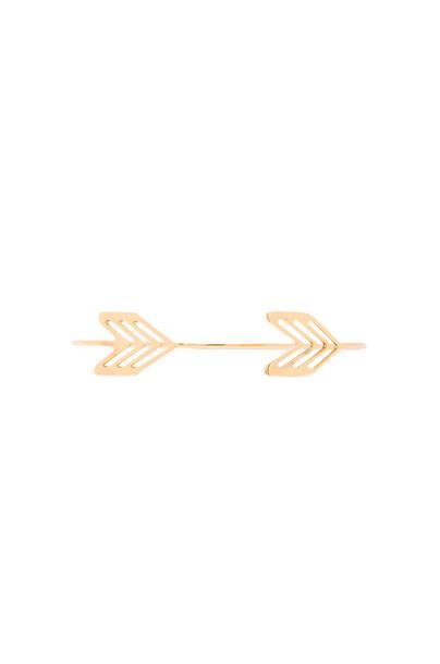 gorjana Chevron Tribal Cuff in gold / metallic