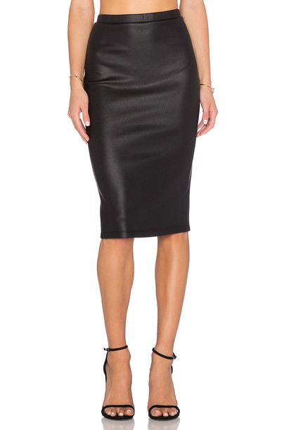 BB Dakota skirt pencil skirt black