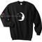 Star moon sweatshirt gift sweater adult unisex cool tee shirts