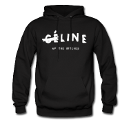 Line Up The Bitches Men's Pullover Hoodie | Bro_Oklyn Inc Co.