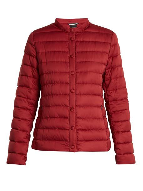 WEEKEND MAX MARA jacket burgundy