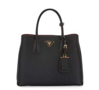 bag handbag prada bag black bag