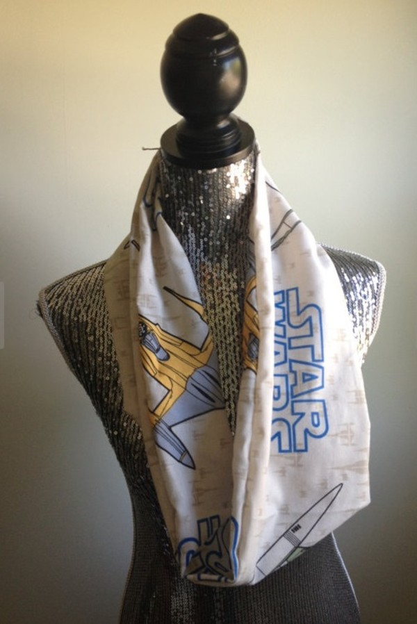 scarf infinity scarf star wars vintage 90s style