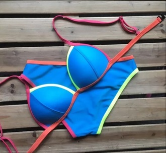 swimwear fluorescent swimsuits neon