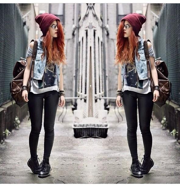 Parlons inutile, parlons chiffons. Wq5c6d-l-610x610-blouse-beanie-bag-leggings-blogger-hat-t-shirt-tank-top-pants-hipster-swag-drmartens