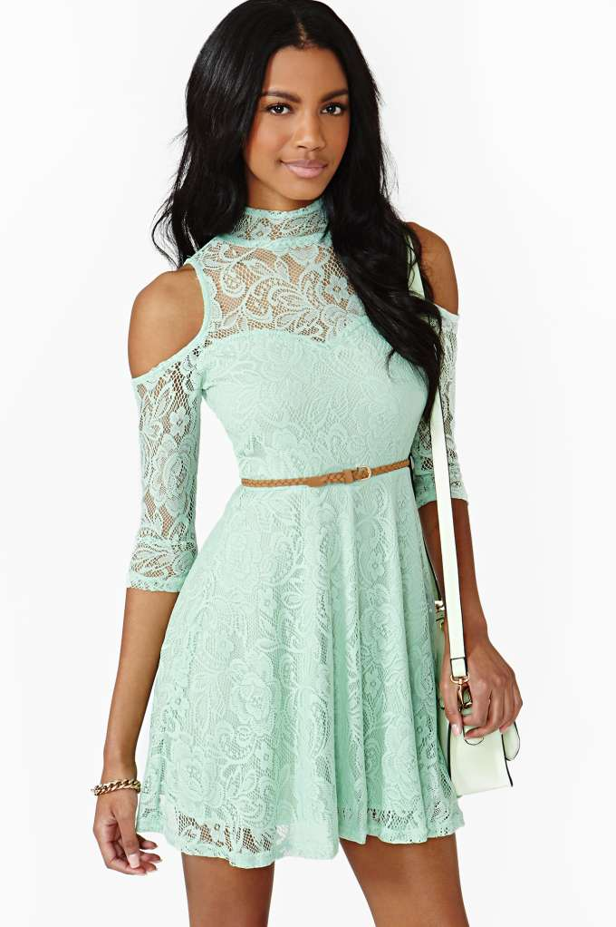 Serendipity Lace Dress  in  Clothes at Nasty Gal