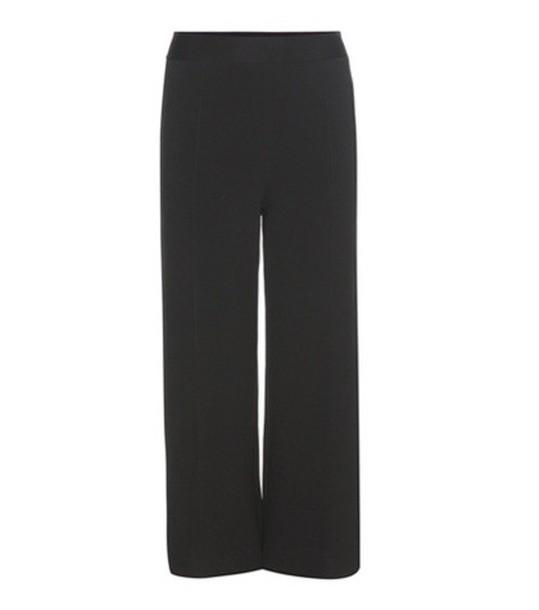 Roland Mouret Redan Jersey Trousers in black