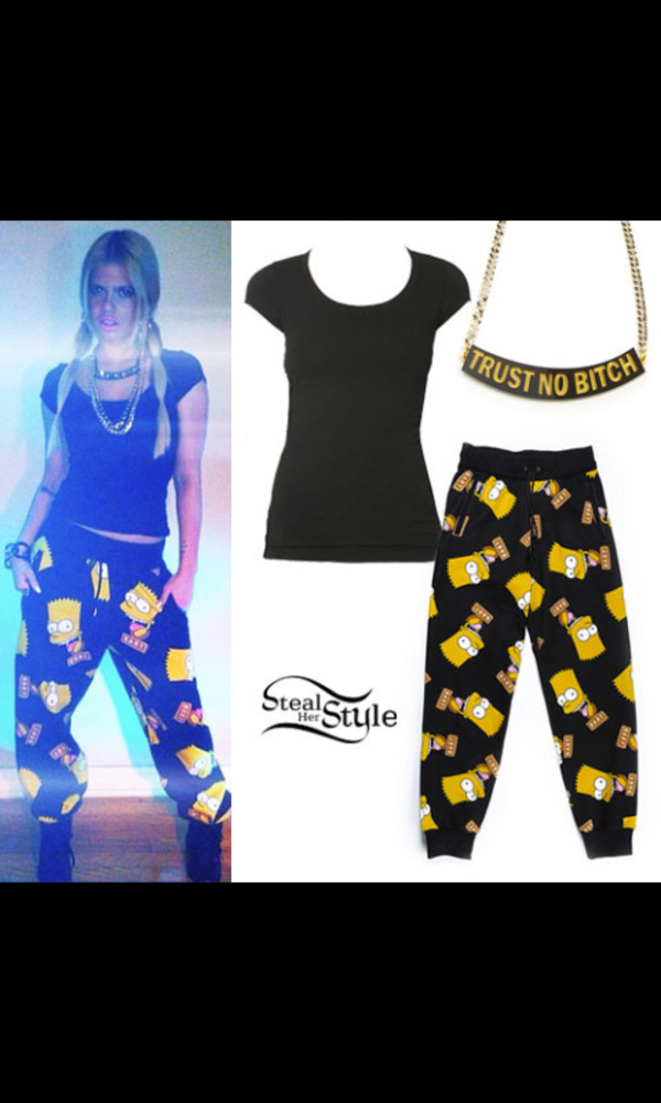 chanel west coast the simpsons trust no bitch lazy day