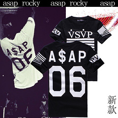 2014 design men tshirt ASAP ROCKY VSVP behind 06 numbers of high quality cotton man short sleeved T shirt black white PYREX tee-inT-Shirts from Apparel & Accessories on Aliexpress.com | Alibaba Group