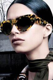 sunglasses,oversized sunglasses,tortoise shell sunglasses,cat eye,prada