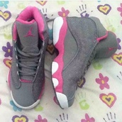 shoes,retro 13s,jordan,jordans,grey sneakers,high top sneakers