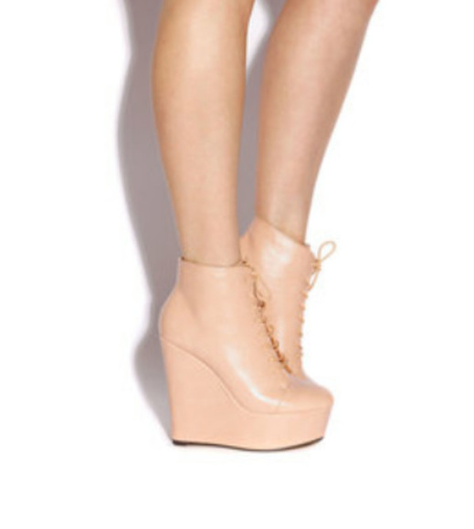 beige nude high heels wedges nude high heels wedge booties