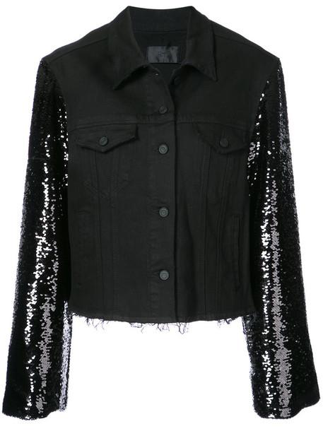 jacket denim jacket denim women spandex cotton black