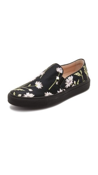 GIAMBATTISTA VALLI floral sneakers sneakers floral black shoes