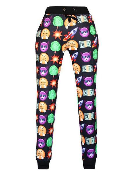 pants emoji print emoji pants emoji print emoji print emoji print trendy free shipping