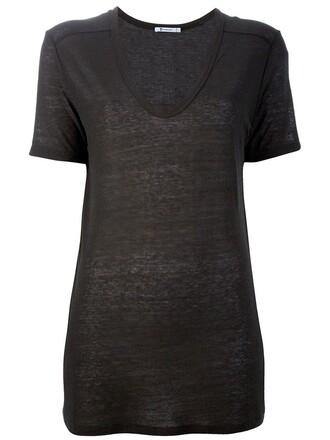 t-shirt shirt brown top