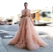 dress,pink tulle